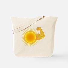 Solar Power Sun Tote Bag