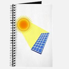 Solar Panel Under the Sun Journal