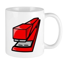 Red Stapler Mugs
