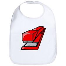 Red Stapler Bib