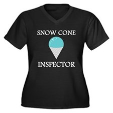 Snow Cone Inspector Plus Size T-Shirt