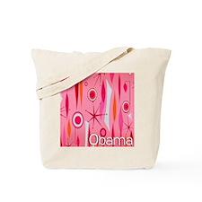 Pink Think Obama Tote Bag