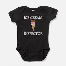 Ice Cream Inspector Baby Bodysuit