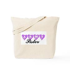ARMY sister Tote Bag