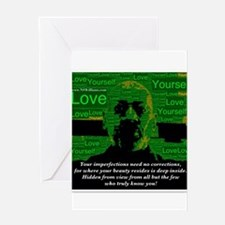 Love Yourself Greeting Cards