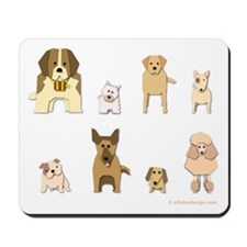 Woof Gang Line Up! Mousepad