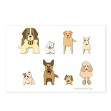 Woof Gang Line Up! Postcards (Package of 8)
