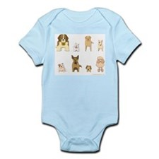 Woof Gang Line Up! Infant Bodysuit