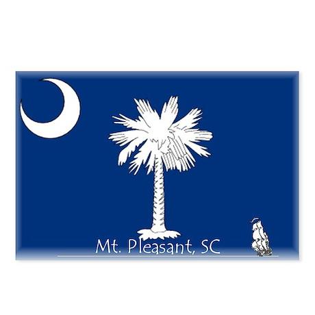 Mt. Pleasant, SC Postcards (Package of 8)