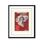Rio Rita Framed Panel Print