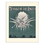 Message of the Angels Small Poster