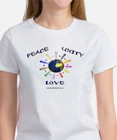 Peace Unity Love Women's T-Shirt