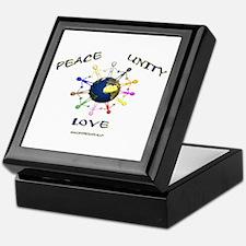Peace Unity Love Keepsake Box
