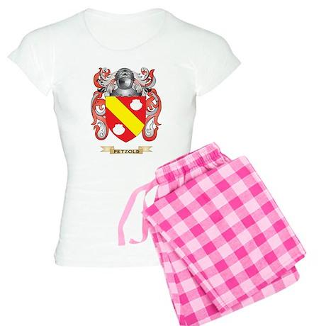 Petzold Coat of Arms (Family Crest) Pajamas