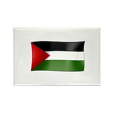 Flag of Palestine Rectangle Magnet