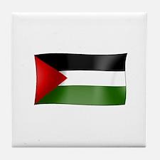 Flag of Palestine Tile Coaster