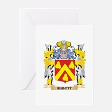 Abbott Coat of Arms - Family Crest Greeting Cards
