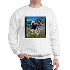 German Shepherd Mix Sweatshirt