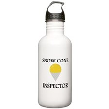 Snow Cone Inspector Sports Water Bottle