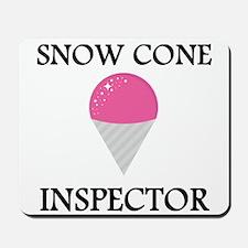 Snow Cone Inspector Mousepad