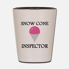 Snow Cone Inspector Shot Glass