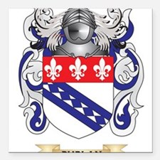 Phelan Coat of Arms (Family Crest) Square Car Magn