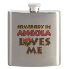 Somebody in Angola Loves me Flask