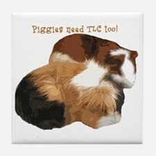 Piggies Tile Coaster