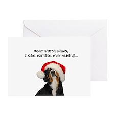 Dear Santa Paws - Entlebucher Christmas Cards