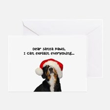 Dear Santa Paws - Entlebucher Christmas Cards