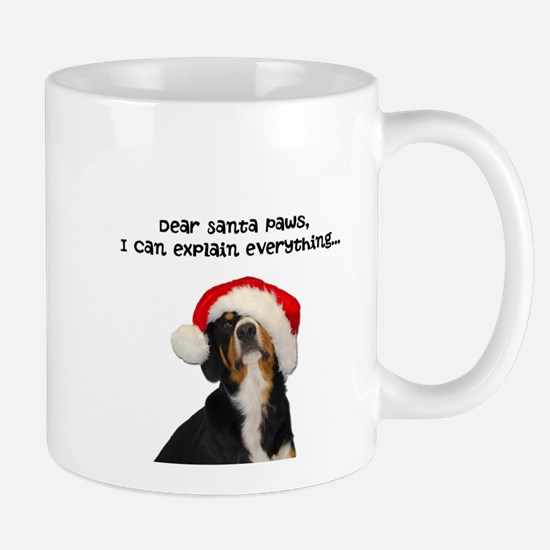 Dear Santa Paws, I can Explain Mugs