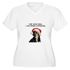 Dear Santa Paws, I can Explain Plus Size T-Shirt