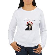 Dear Santa Paws, I can Explain Long Sleeve T-Shirt