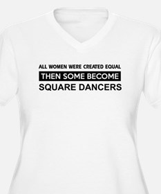 square created equal designs T-Shirt