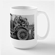 Young Lady Auto Mechanics Mugs