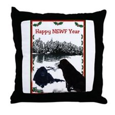 Happy Newf Year Throw Pillow