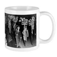 We Want Beer! Protest Mugs