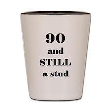 90 still stud 4 Shot Glass
