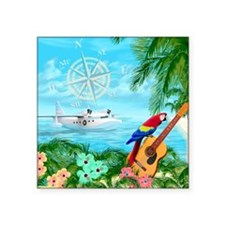 Tropical Travels Sticker