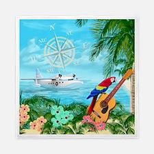 Tropical Travels Queen Duvet