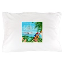 Tropical Travels Pillow Case