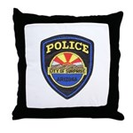 Surprise Police Throw Pillow