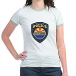 Surprise Police Jr. Ringer T-Shirt