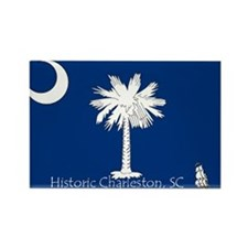 Historic Charleston Rectangle Magnet