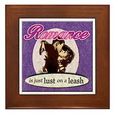 Romance! Framed Tile