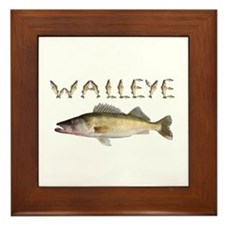 Perfect Walleye 2 Framed Tile
