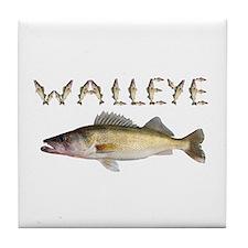 Perfect Walleye 2 Tile Coaster