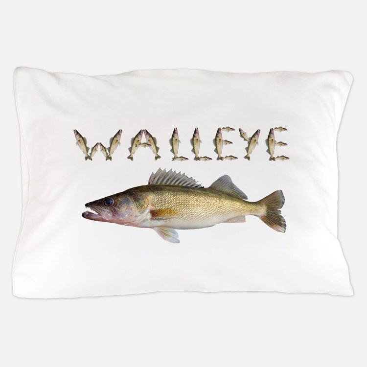 Perfect Walleye 2 Pillow Case