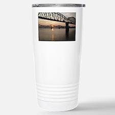 Louisville Bridges Stainless Steel Travel Mug