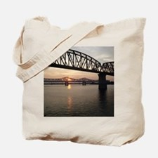 Louisville Bridges Tote Bag